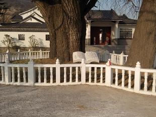 阳台柱-景区汉白玉护栏