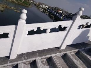 路桥护栏-汉白玉扶手护栏