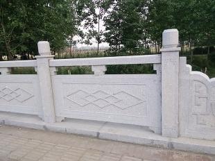 阳台柱-大理石扶手