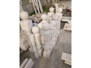 阳台柱-汉白玉立柱