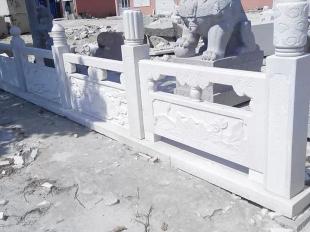 路桥护栏-汉白玉立柱
