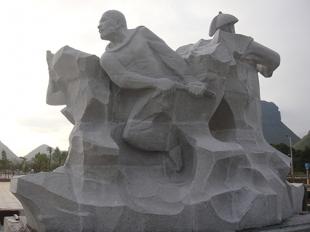 临沂景区人物石雕