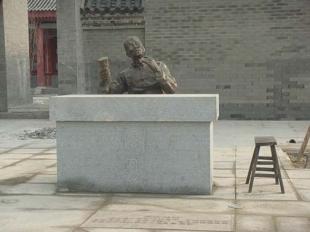 石材雕刻-人物展示